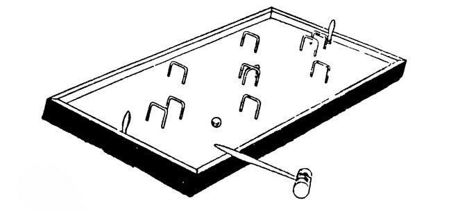 Игра крокет - Настольный крокет