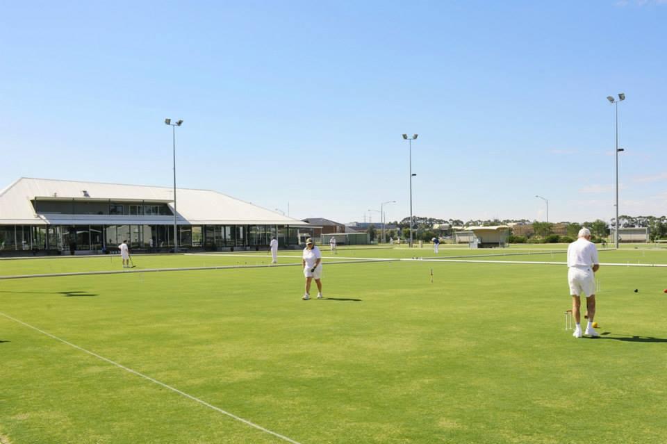 Игра крокет - Молодежный Чемпионат Мира по гольф-крокету в Австралии