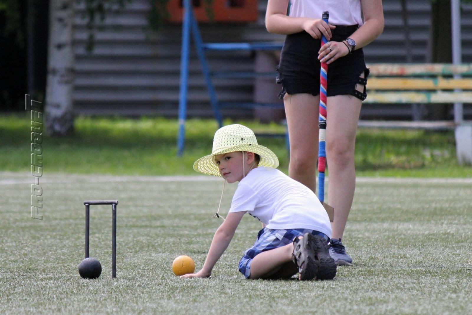Тренировка по гольф-крокету в Кронштадте