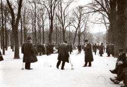 Крокет в Люксембургском саду Парижа, 1913