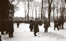 Jeu de croquet au Jardin du Luxembourg, 1913