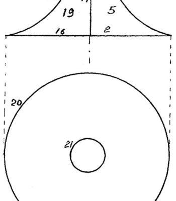 Игра крокет - Стойка для установки элементов игрового комплекта для игры в крокет шаром