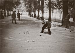 Jeu de croquet au Jardin du Luxembourg, 1925