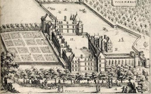 Гравюра 1626 г., Франция