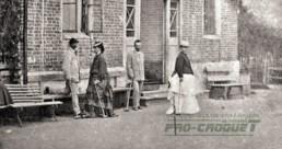 Игра в крокет, усадьба Покровское, 1870-е гг.
