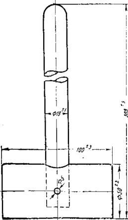 Рис. 3. Молоток для крокета